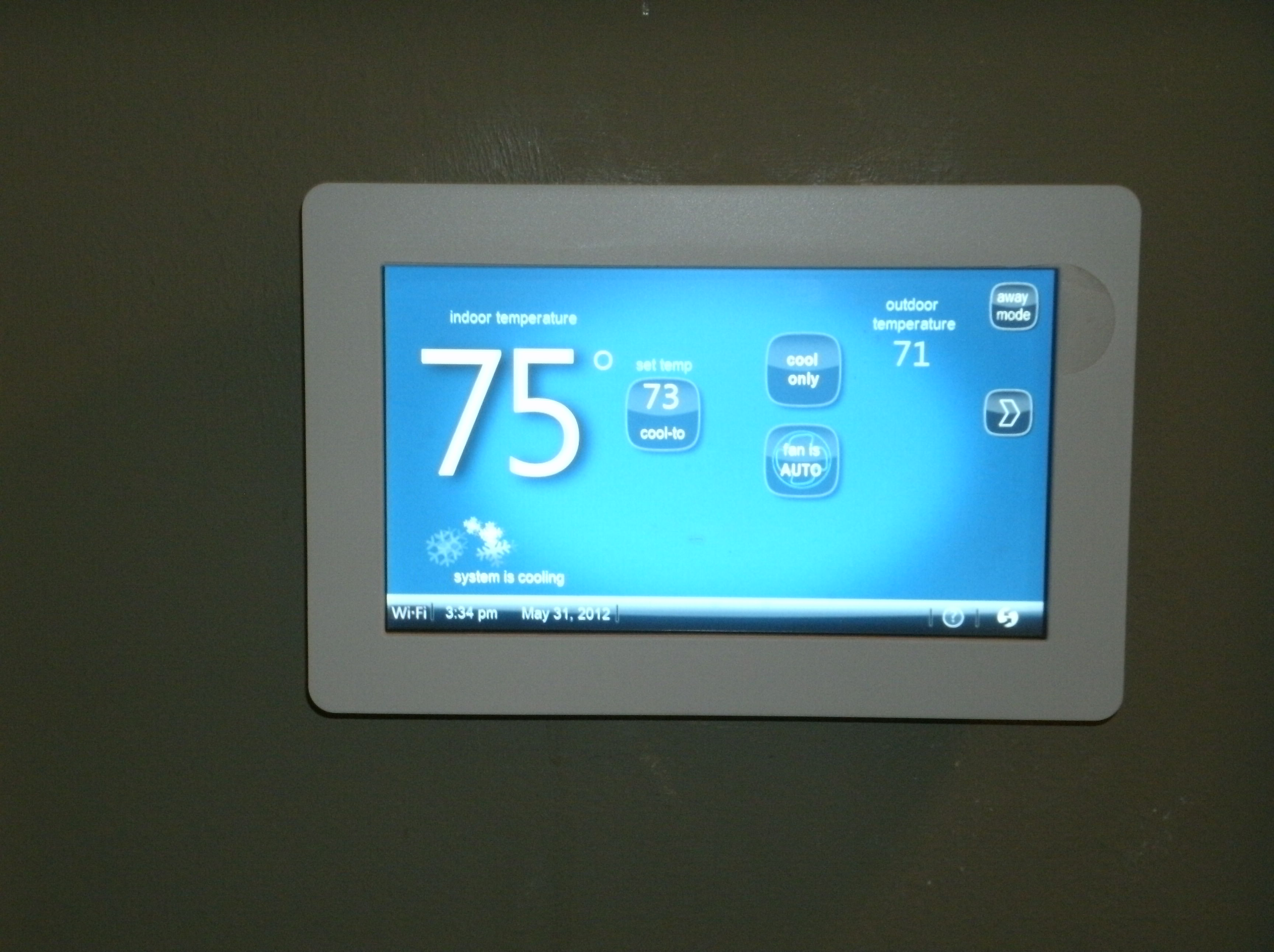 Armstrong Air wifi Thermostat