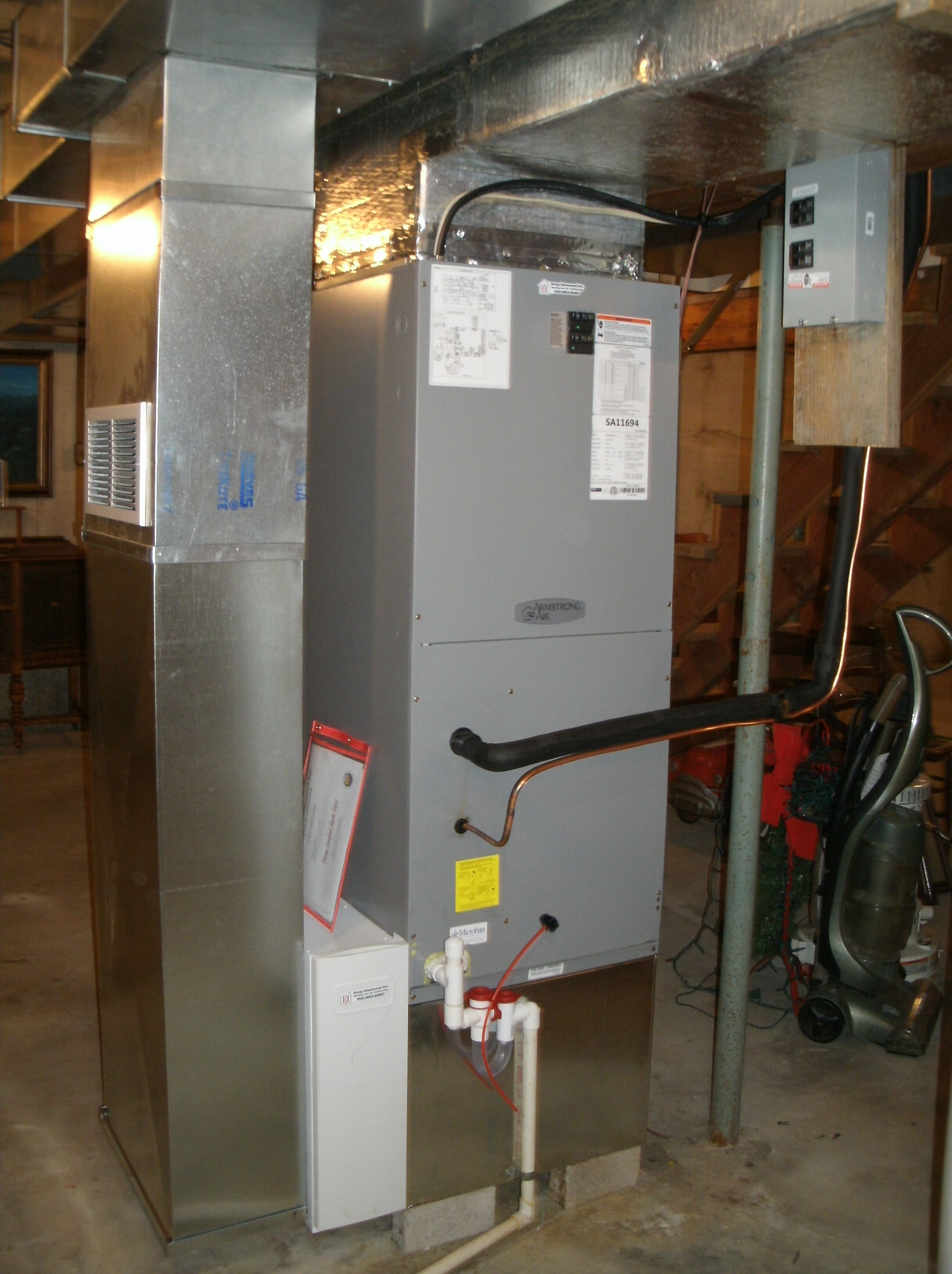 Armstrong Air Electric Furnace