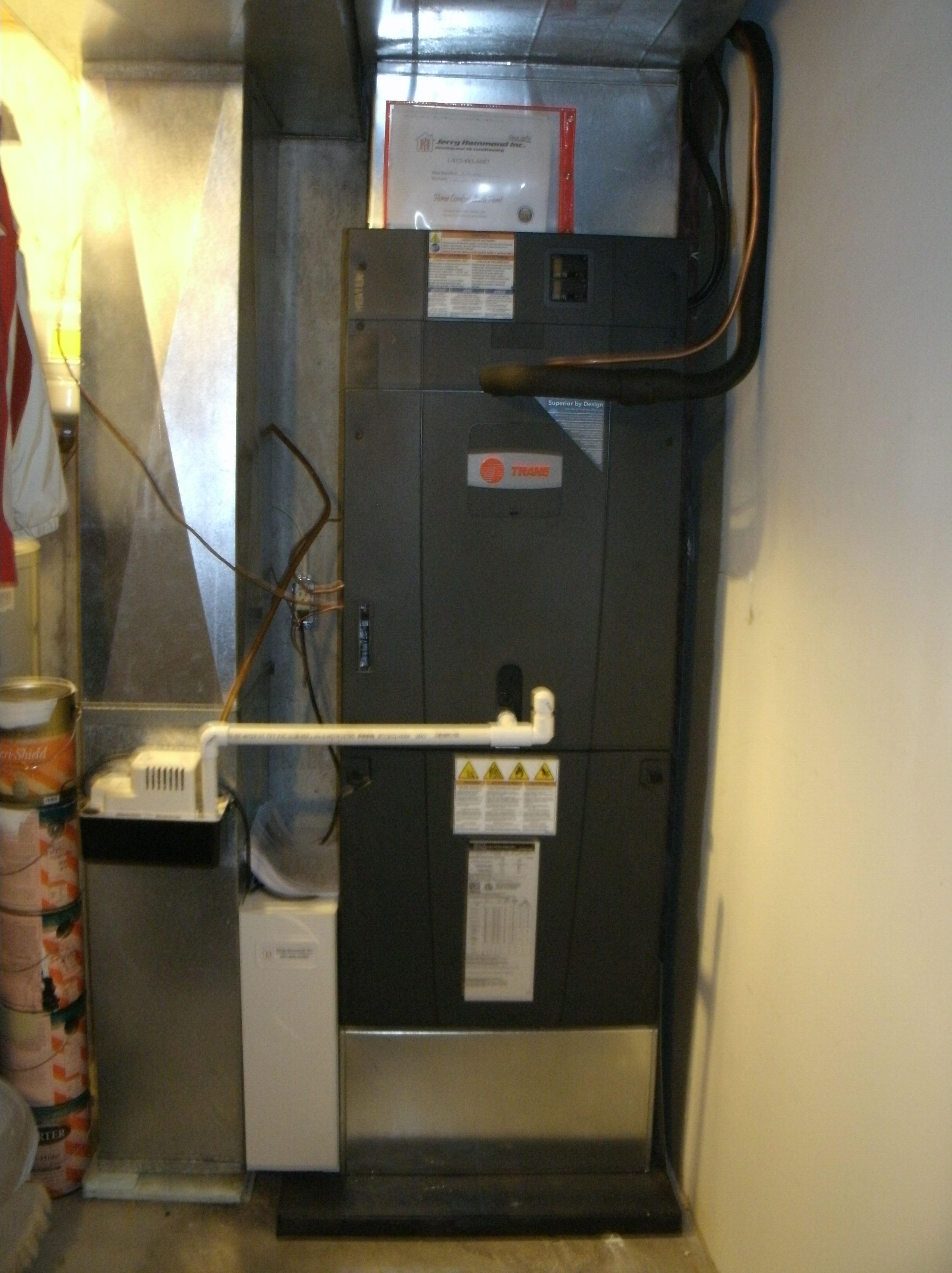 Trane Varible Speed Electric Furnace