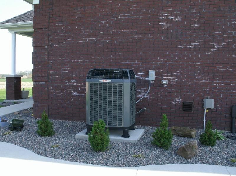 High Efficiency Trane AC Unit