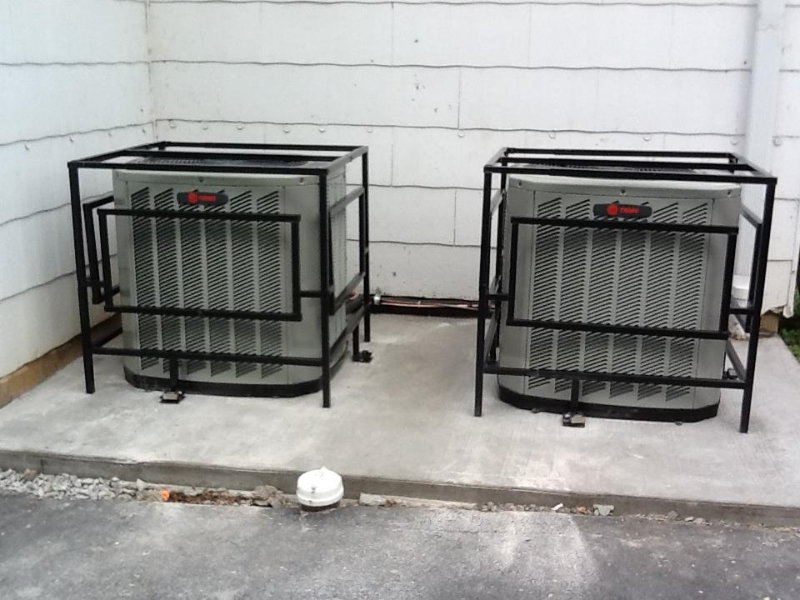 Air Conditioner Steel Cages