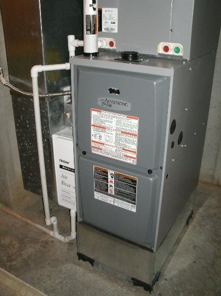 Armstrong Air 95% Gas furnace