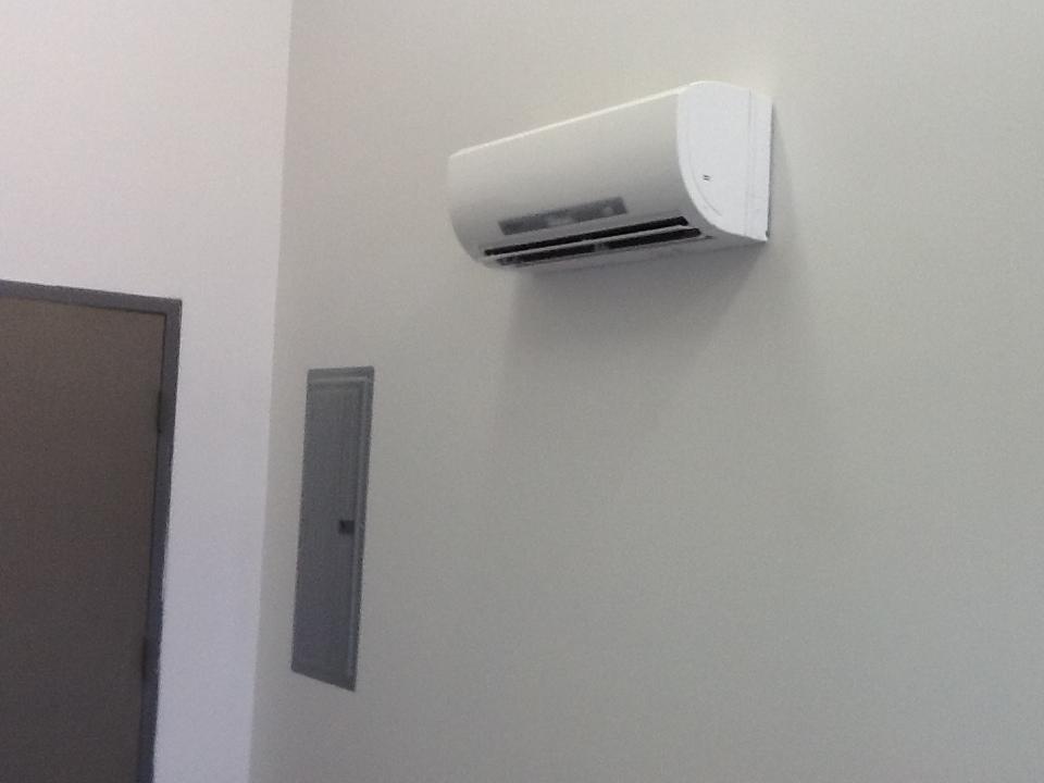 Mitsubishi Ductless indoor unit