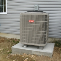 16 seer 2 stage Bryant Heat Pump