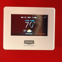 Bryant touchscreen wifi Thermostat