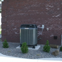High Efficiency Trane AC Unit