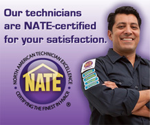 We're NATE certified